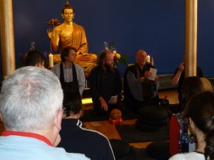 Zen chanting at Manchester Buddhist Convention